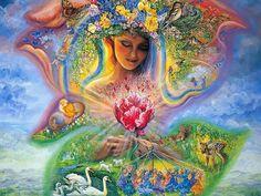 Mi corazón de mujer es rociado con el dulce néctar de sanación que la Madre Cósmica me entrega. En este momento soy parte del Círculo Sagrado de Mujeres de Luz, y unida a mis hermanas, activo mi fu...