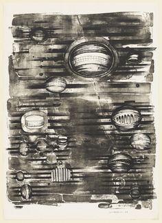 Lee Bontecou. Fourth Stone. 1963