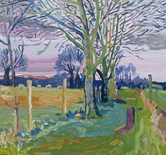 Ipsden, Oxfordshire (Martin Beek) Tagy: farba strom art príroda maľba…