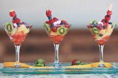 Una boda muy saludable: ¡Refresca a tus invitados con fruta!