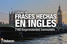Frases hechas en ingles