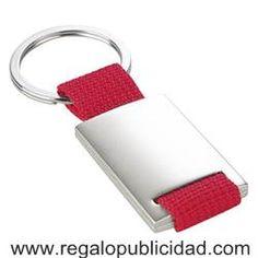 Llavero de metal con tira de poliéster promocional, baratos, personalizados con el logo de su empresa, para regalos de empresa, eventos, campañas de marketing y publicidad