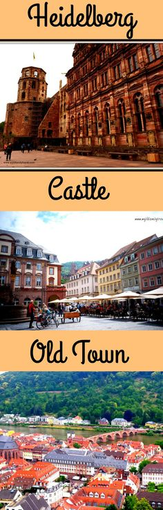 Heidelberg Germany an amazing town to spend a day, half a day anytime at all.
