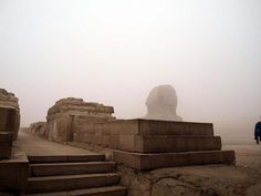 The Sphinx and Khafre's Causeway