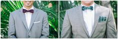 Wedding: Clint & Erika // San Diego Public Library, San Diego, CA » Analisa Joy Photography // wedding bow ties