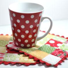 Scrappy Mug Mat