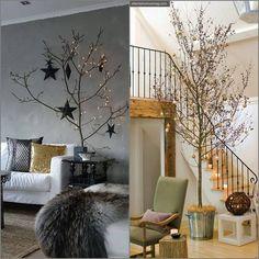 Esta época é uma corrida só, mas deu tempo de selecionar algumas ideias simples para decorar a casa e a mesa no Natal , que está pertinho já!