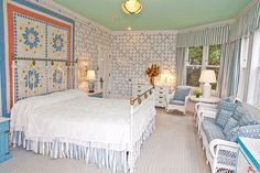 Wicker Suite at the Grand Hotel on Mackinac Island, MI,