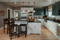 130 Year Old Home Transformation - contemporary - kitchen - other metro - Bay Cabinetry & Design Studio LLC