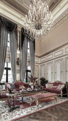 Living Room Partition Design, Interior Design Living Room, Living Room Decor, Luxury Dinning Room, 1920s Interior Design, Design Your Own Home, House Gate Design, Moroccan Interiors, Floor Design
