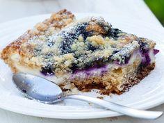 Mustikka-rahkapiirakka - Reseptit Margarita, Acai Bowl, French Toast, Oatmeal, Sweets, Baking, Breakfast, Ethnic Recipes, Desserts