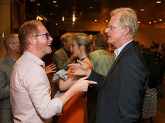 Jesse Tyler Ferguson & Ed Begly at RED Opening Night party at MOCA in L.A.