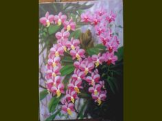 wild orchids painting