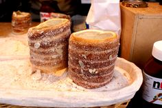 Trdelnik, a delicious pastry that is definitely better than a donut.
