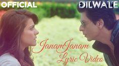Janam Janam – Dilwale | Shah Rukh Khan | Kajol | Pritam | SRK | Kajol | ...
