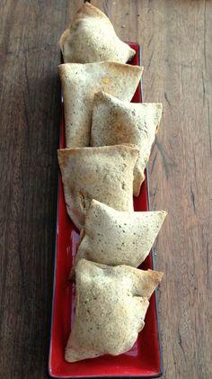 Whole food samosas (gluten free, vegan, whole food)
