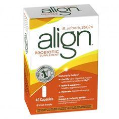 Photo of Align probiotic supplement, capsules, 42 capsules