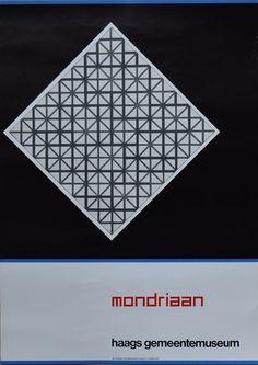 Nu in de #Catawiki veilingen: Aart Verhoeven - Mondriaan - 1972