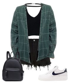 """Untitled #27"" by antisocialsarah ❤ liked on Polyvore featuring Ksubi, Sans Souci, BillyTheTree and NIKE"