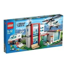 Compare prices on LEGO City Set Helicopter Rescue from top online retailers. Save money on your favorite LEGO figures, accessories, and sets. Lego City Helicopter, Lego City Police, Lego Chess, City Hospital, Lego City Sets, Lego Boards, Lego Toys, Lego Lego, Buy Lego