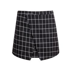 SheIn(sheinside) Black Plaid Bodycon Skirt ($18) ❤ liked on Polyvore featuring skirts, mini skirts, bottoms, sheinside, black, tartan skirt, plaid skirt, cotton skirt, black bodycon skirt and short mini skirts