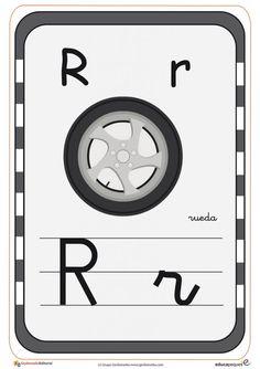 Tarjetas para aprender el abecedario y repasar las letras Activities For Kids, Superhero, Cool Stuff, Logos, Victor Hugo, Birthday, Alphabet, Molde, Learning Letters
