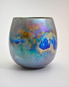 Greg Daly. At Sabbia Gallery. Title: Summer Morning. Lustre glaze.
