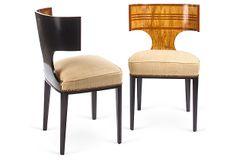 One Kings Lane - Defining Details - Swedish Biedermeier Chairs, Pair