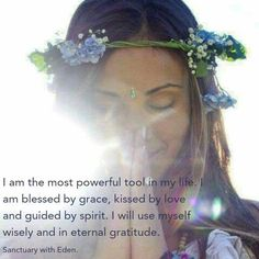I am the most powerful tool in my life....☀️❤️