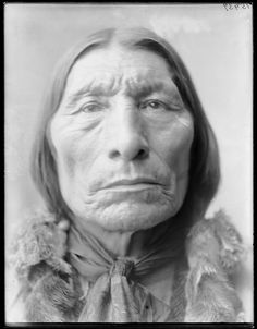 """""""Wolf Robe (c.1838-1910) was aSouthern Cheyennechief and a holder of the Benjamin HarrisonPeace Medal.During the late 1870s he was forced to leave the open plains and relocate his tribe on to theCheyenne and Arapaho Indian ReservationinIndian Territory.He was awarded the Benjamin Harrison Peace Medal in 1890 for his assistance in theCherokee Commission.""""    - Wikipedia #GeorgeTupak"""