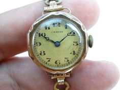 Made in Swiss early 20thC. USA buyers; please note this is based on 500g of weight so combined shipping of jewellery and Gemstones at same rate is possible. Movement working. Gold Coast,