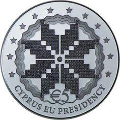 5 Euro Silber EU-Präsidentschaft PP