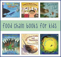 Food Chains for Kids -- Best Picture Books for K-Gr.4 More