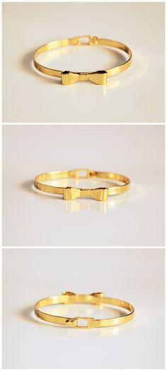 bow bracelet. fashion jewelry. contact me: olapolakk@gmail.com