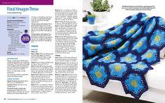 Crochet World Marvelous Crochet Motifs  Spring 2017 - 轻描淡写 - 轻描淡写