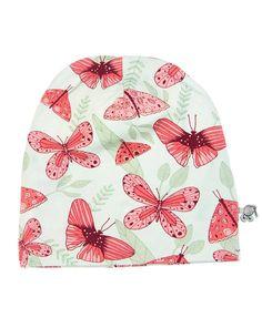 igi Organic Beanie Schmetterlinge rosa/hellgrün » Jetzt online kaufen ✔ Versandkostenfrei ab 50CHF ✔ Große Auswahl an igi Organic ✔ Schnelle Lieferung ✔