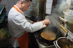 The family-run Lao Weixian is one of our favorite Sichuan eateries in Shanghai.
