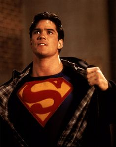 Dean Cain. The reason why I got into journalism (true story).