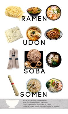 Este post es para aquellos que todavía no sabeis cuales son los diferentes tipos de fideos que se utilizan en la cocina japonesa, como son, de que están elaborados y las diferentes formas en que se cocinan. RAMEN, De origen chino, llego a Japón a través de la isla de Okinawa que pertenecía