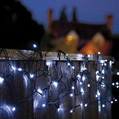 String Lights Sainsburys : 20 LED Clear Cap Warm White Connectable Festoon Lights Warm, Solar and Cap d agde