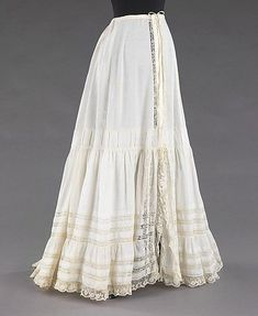 Petticoat 1900-1905 The Metropolitan Museum of Art
