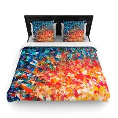 "Ebi Emporium ""The Clash"" Woven Duvet Cover 