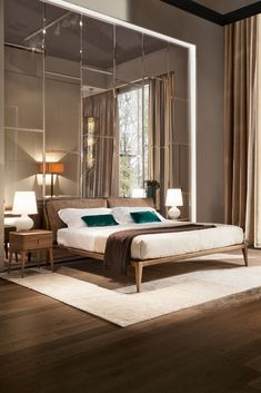 Bed INDIGO designed by Leonardo Dainelli