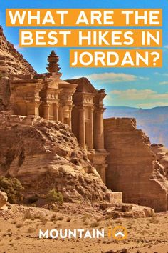 With so much to offer, hiking in Jordan should be on all outdoor adventurers bucket lists! Here are our top 8 trails in Jordan. Travel Pictures, Travel Photos, Travel Tips, City Of Petra, Jordan Country, Best Hikes, Historical Sites, Hiking Trails, Day Hike