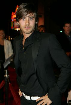 "Jared at the premiere for ""Alexander""."