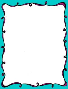 these fun swirly frames were hand drawn scanned and then digitally color