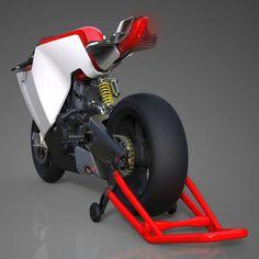 RV2 : A V2 Engined Superbike by Eyal Melnick   Tuvie