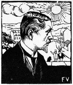 Félix Vallotton autoportrait 1895 - Валлоттон, Феликс — Википедия