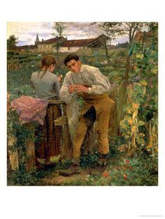"""Rural Love"", Jules Bastien-Lepage"