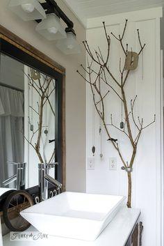 badezimmer ast dekoration